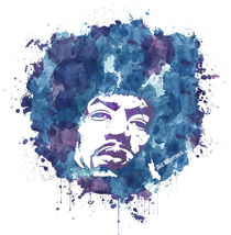 Jimi Hendrix by artwarriors