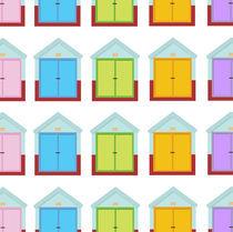 beautiful brighton huts by thomasdesign
