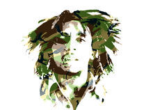 Bob Marley von Kaylan McCarthy