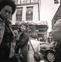 Street Scene, SoHo: New York City von Ron Greer