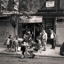 Street Scene, Lower East Side: New York City by Ron Greer