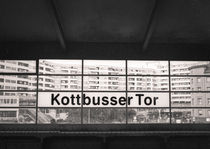 Kottbusser Tor U-Bahnhof: Berlin by Ron Greer