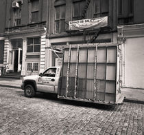Glass Truck: New York City von Ron Greer