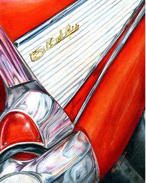 57 Bel Air in Red: the Adventure Begins von Alma  Lee