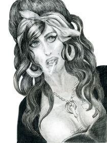 Amy Winehouse RIP study by Alma  Lee