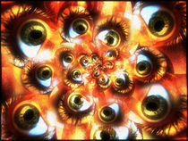 an army of eyes #2 von Rodrigo Lloreda