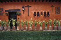 Cuernavaca Wall by John Mitchell