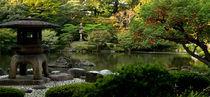 Peaceful Garden von Rick Sharf