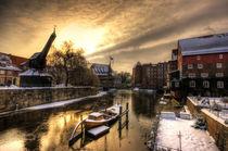 Lüneburger Hafen III von photoart-hartmann
