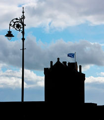 Broughty Ferry Castle Silhouette by Buster Brown Photography