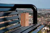 Dundee Multi Storey Flats - bench view by Buster Brown Photography