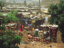 The old Yennenga market in Ouagadougou by Palle Smith-Petersen