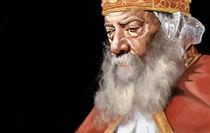 Pope Shenouda  by Mina  Anton
