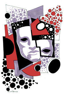 the mask by Mina  Anton