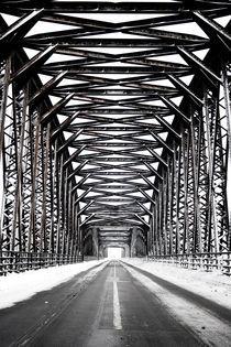 Rheinbrücke von Claudio Ahlers