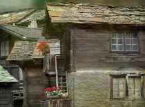 altes Dorf von Franziska Rullert