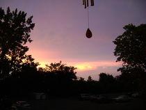 sunset silhouette  by Gary Burkhardt