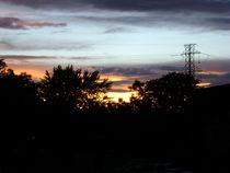 summer sunset von Gary Burkhardt