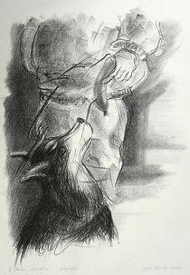 Husky wants by Migle Puzaite