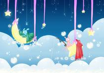 Pao & Tao: Sleepy Sky von Annalisa Di Maggio