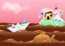Pao & Tao: Chocolate sea by Annalisa Di Maggio
