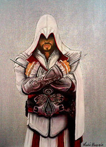 Ezio Auditore Da Firenze by Nadia Hussein