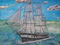 Segelschiff von Ka Wegner