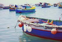 Malta Boat by Natascha Narvaez