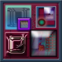 Windows of Colour by Inge Meldgaard
