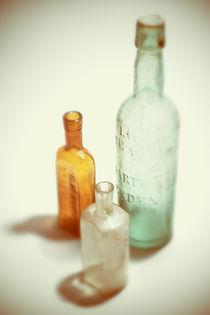 Alte Flaschen von dresdner