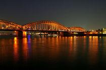 Köln bei Nacht von Nora Goerne