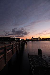 Seebad Binz Romantischer Sonnenuntergang by Falko Follert