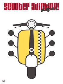 Scooter Yellow von Iván Fernández