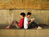 Two readers by Andrea Liuzza