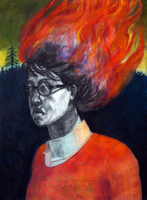 A Fire at Dawn by Christina Barrera