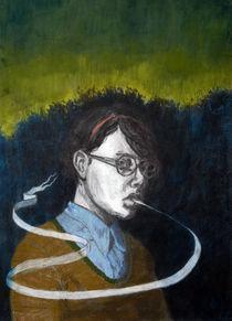 Dusk with Scrolls by Christina Barrera
