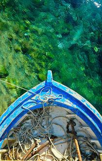 Old Fisherman Boat by Tunc Karadag
