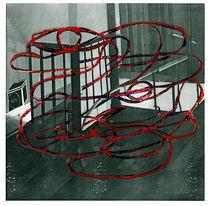 Night (staircase) sketch von Christina Barrera