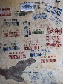 Capitalist Graffiti Hanoi 2 von James Menges