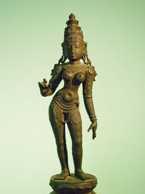 Hindu Goddess Staute by James Menges