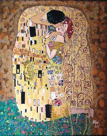 "Gustav Klimt ""The Kiss"" von Katarzyna Wojcik"