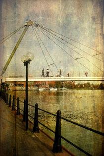 Die Nesse-Brücke in Leer by Mathias May