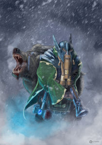Dwarf Hunter von Raul Fabian