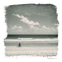 bike in the beach by ricardo junqueira