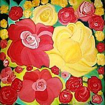 Die bunte Blumen von tawin-qm