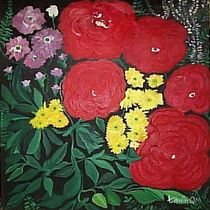 Die bunte Blumen 2 von tawin-qm