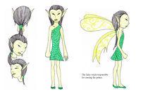 Fairy witch von Noushka Woszczylo