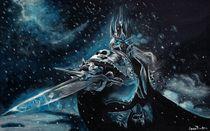 Arthas Lich King by Anca Damian