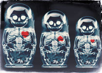 Nesting Doll X-Ray by Ali GULEC