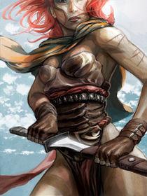 "Warrior chick by Manuel ""lolo"" Guzman"